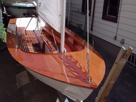 Glen-L 15 Sloop Sailboat