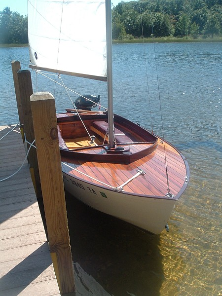 Glen-L 14' Sloop Sailboat