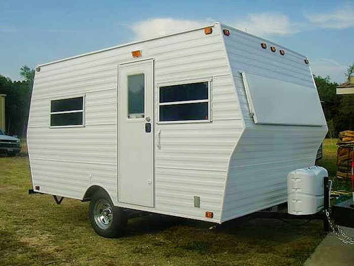 Creative Trailers Free Tear Drop Trailer Plans Camping Diy