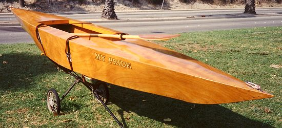 Plywood kayak plans for the home builder