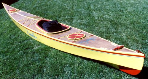 Sea Kayak stitch and glue touring kayak