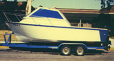 trailerable cruiser boat plans
