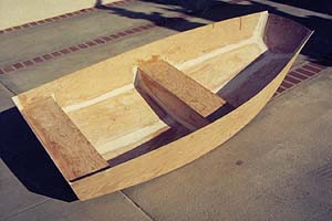 ... tender without the sail rig or daggerboard - an easy modification if