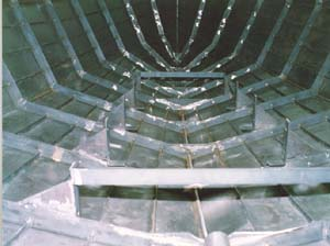 Boatbuilding materials and methods: Steel shrink-wrap