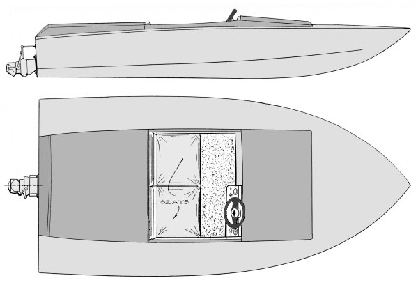 11' Dyno Jet - runabout for jet-boatdesign