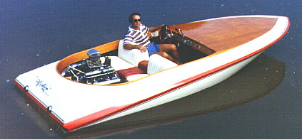 inboard speed and ski boat plans plywood