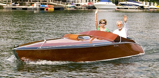 Plans for wood speed boat