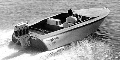 Rebel 567 A 15 Outboard Runabout And Ski Boat