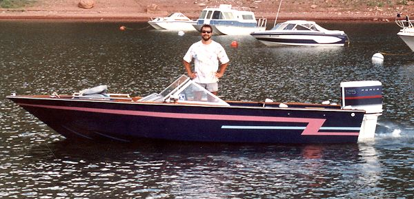 Types of boats with cabins plywood bass boat plans used for Bass boat plans