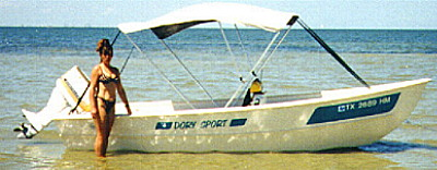 16' Wee Hunk - S&G power dory with center console-boatdesign