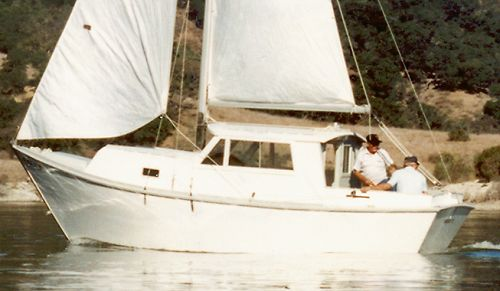 Coaster, 25' trailerable motor sailer plans and patterns