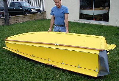 10' Fold Up - folding boat-boatdesign