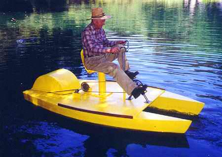 9 39 pedal it s g pedal boat boatdesign for Fishing pedal boat