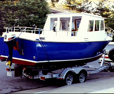 Eagle 23' lobster boat