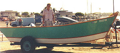 Little Hunk Pacific power dory