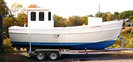 24' Noyo Trawler - commercial fishing/cargo boat-boatdesign