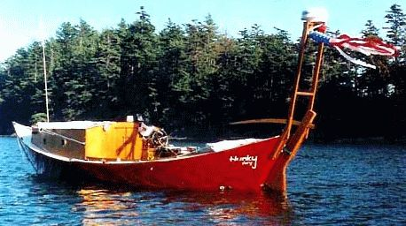 Boat building: St Pierre dory pic650c