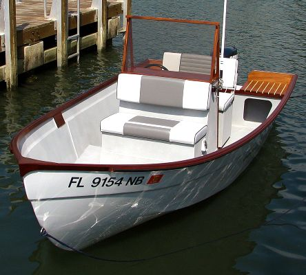 Home built boat: Console Skiff outboard fishing boat pic687-thumbnails