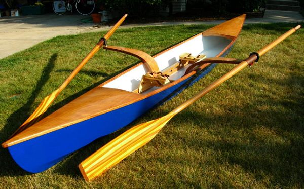 Sculling Skiff built by Mike Van Susteren - photos 2