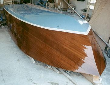 Malahini plywood runabout boat plans 245a