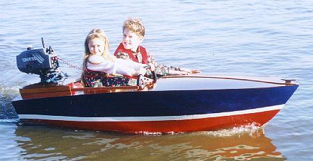 Pee Wee boat boat kit 264a