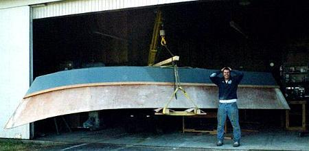 Hunky Dory boat plans pic316f