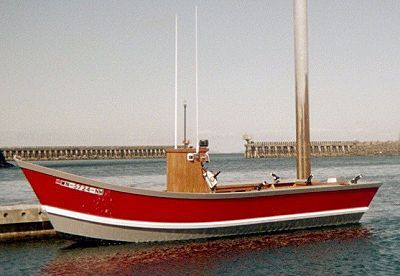 Hunky Dory boat plans pic316l
