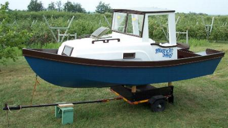 Cabin Skiff Plans Pic320a