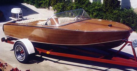 Zip runabout boat plans pic370a