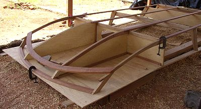 Airboat boat plans pic375a