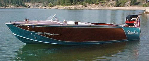 classic outboard runabout boat plans