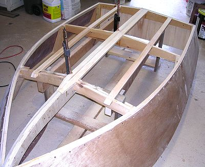 Pee Wee mini-runabout boat plans pic486b
