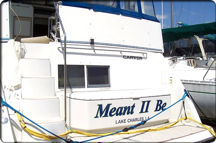 BIGGER BETTER AND MORE HILARIOUS BOAT NAMES