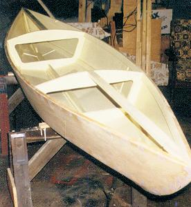 Canyak canoe boat plans for plywood construction 2