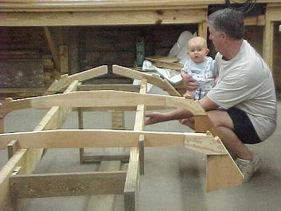 Build a boat from plans