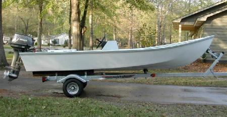 plywood dory plans